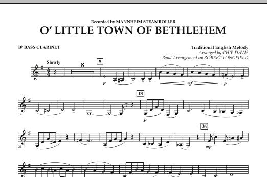 O Little Town Of Bethlehem - Bb Bass Clarinet (Concert Band)