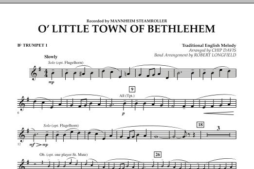 O Little Town Of Bethlehem - Bb Trumpet 1 (Concert Band)