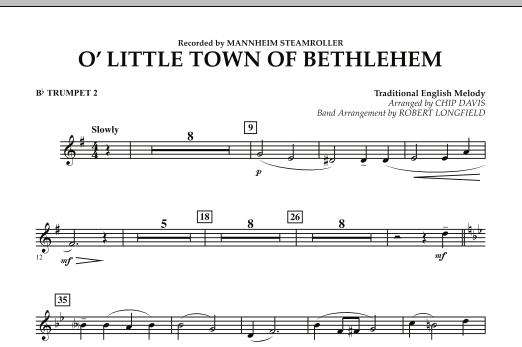 O Little Town Of Bethlehem - Bb Trumpet 2 (Concert Band)