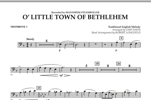 O Little Town Of Bethlehem - Trombone 1 (Concert Band)