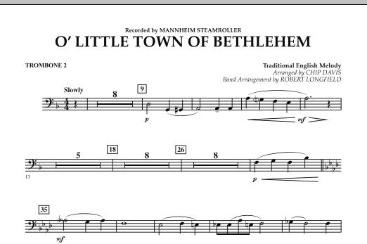 O Little Town Of Bethlehem - Trombone 2 (Concert Band)