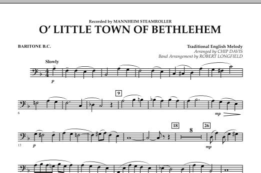 O Little Town Of Bethlehem - Baritone B.C. (Concert Band)