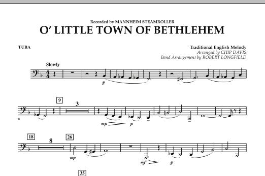 O Little Town Of Bethlehem - Tuba (Concert Band)