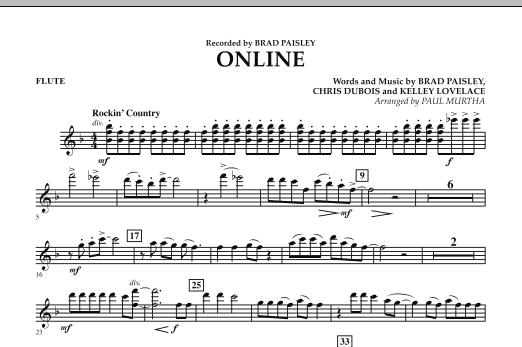 Online - Flute (Concert Band)