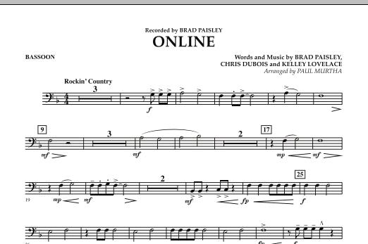 Online - Bassoon (Concert Band)