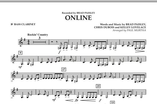 Online - Bb Bass Clarinet (Concert Band)