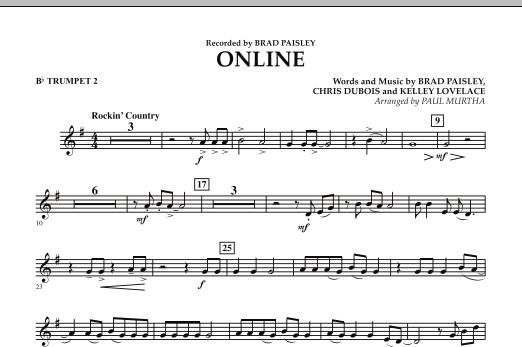 Online - Bb Trumpet 2 (Concert Band)