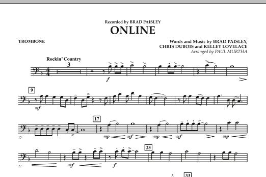 Online - Trombone (Concert Band)
