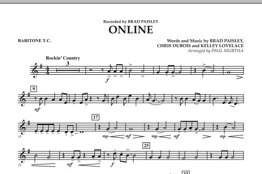 Online - Baritone T.C. (Concert Band)