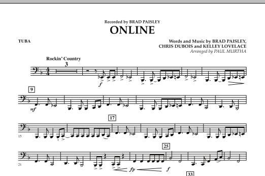 Online - Tuba (Concert Band)