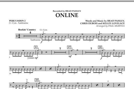 Online - Percussion 2 (Concert Band)