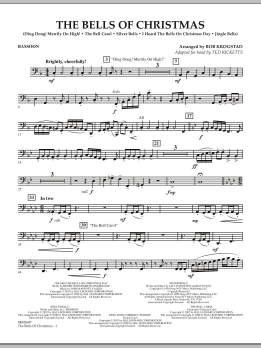 The Bells Of Christmas - Bassoon (Concert Band)