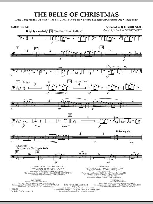 The Bells Of Christmas - Baritone B.C. (Concert Band)