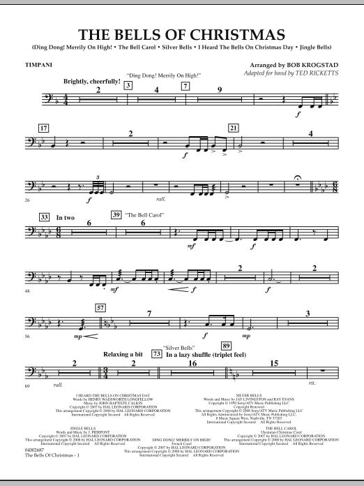 The Bells Of Christmas - Timpani (Concert Band)