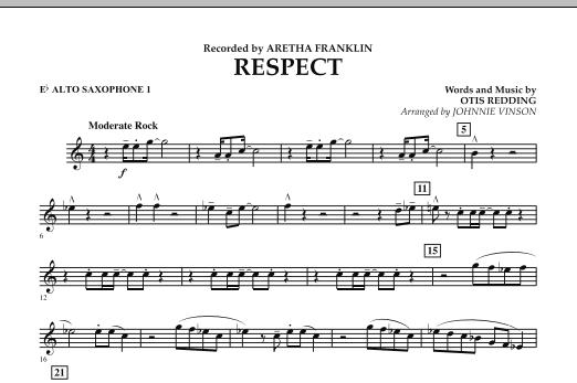 Respect - Eb Alto Saxophone 1 (Concert Band)