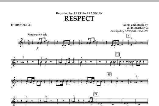 Respect - Bb Trumpet 2 (Concert Band)