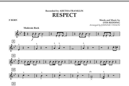 Respect - F Horn (Concert Band)