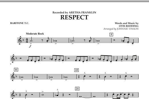 Respect - Baritone T.C. (Concert Band)
