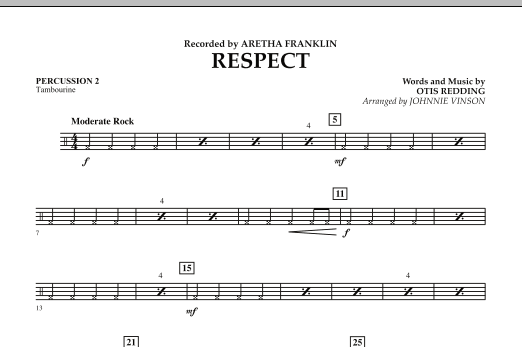 Respect - Percussion 2 (Concert Band)