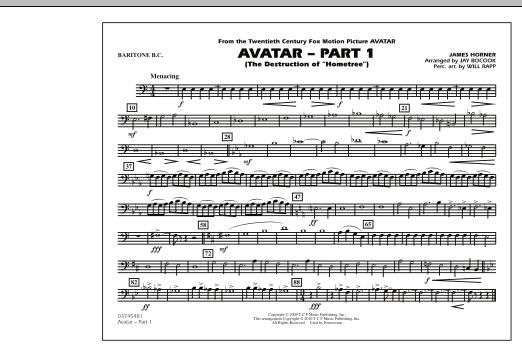 Avatar: Part 1 - Baritone B.C. (Marching Band)