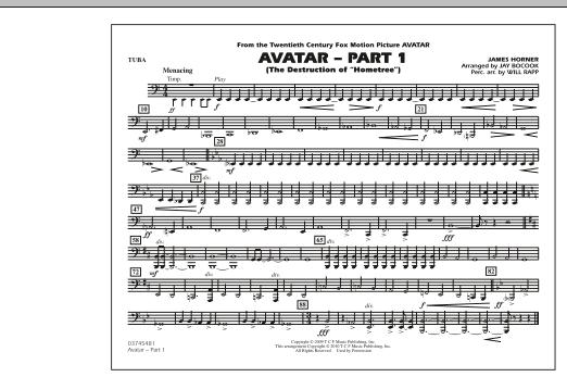 Avatar: Part 1 - Tuba (Marching Band)
