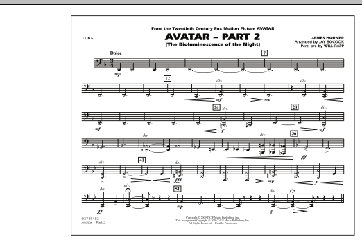 Avatar: Part 2 - Tuba (Marching Band)