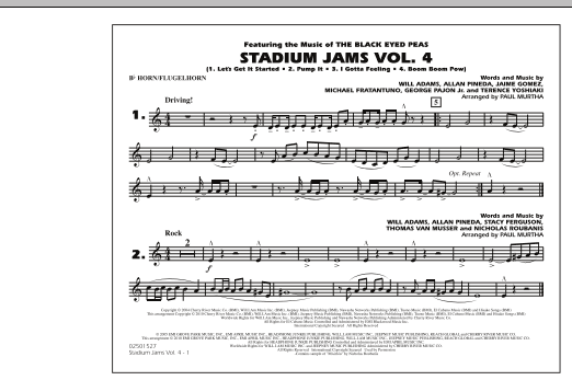 Stadium Jams: Vol. 4 - Bb Horn/Flugelhorn (Marching Band)