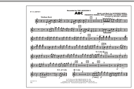 ABC - Bb Clarinet (Marching Band)