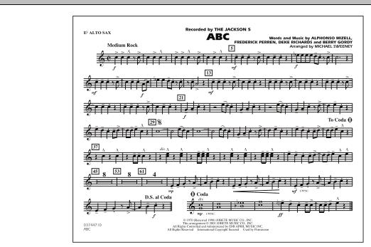 ABC - Eb Alto Sax (Marching Band)