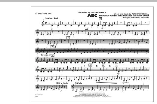 ABC - Eb Baritone Sax (Marching Band)
