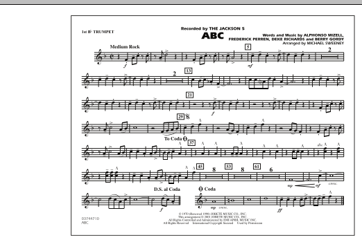 ABC - 1st Bb Trumpet (Marching Band)