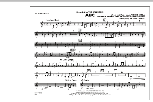 ABC - 2nd Bb Trumpet (Marching Band)