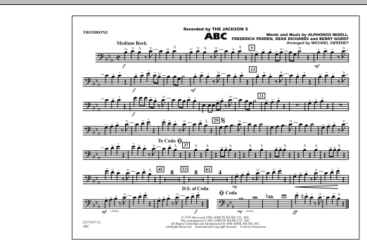 ABC - Trombone (Marching Band)