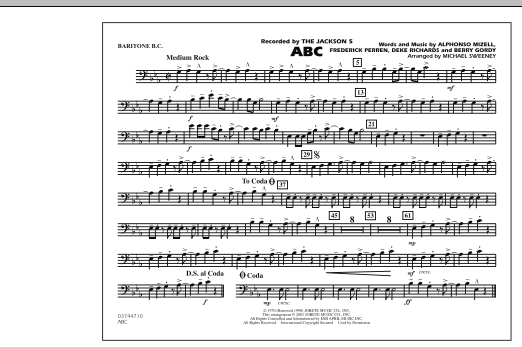 ABC - Baritone B.C. (Opt. Tbn. 2) (Marching Band)