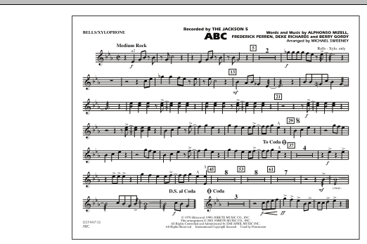 ABC - Bells/Xylophone (Marching Band)