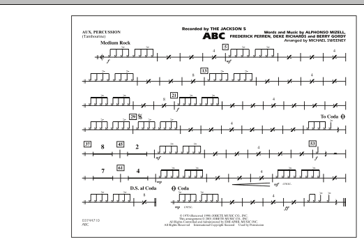 ABC - Aux Percussion (Marching Band)