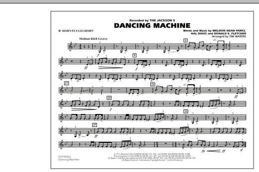 Dancing Machine - Bb Horn/Flugelhorn (Marching Band)