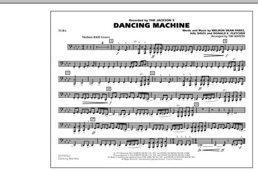 Dancing Machine - Tuba (Marching Band)