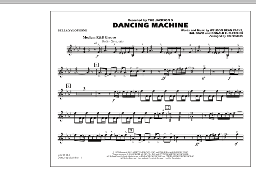 Dancing Machine - Bells/Xylophone (Marching Band)