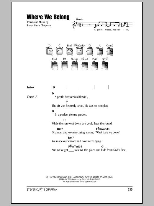 Steven curtis chapman sheet music by no composer hal leonard steven curtis chapman by no composer steven curtis chapman stopboris Images