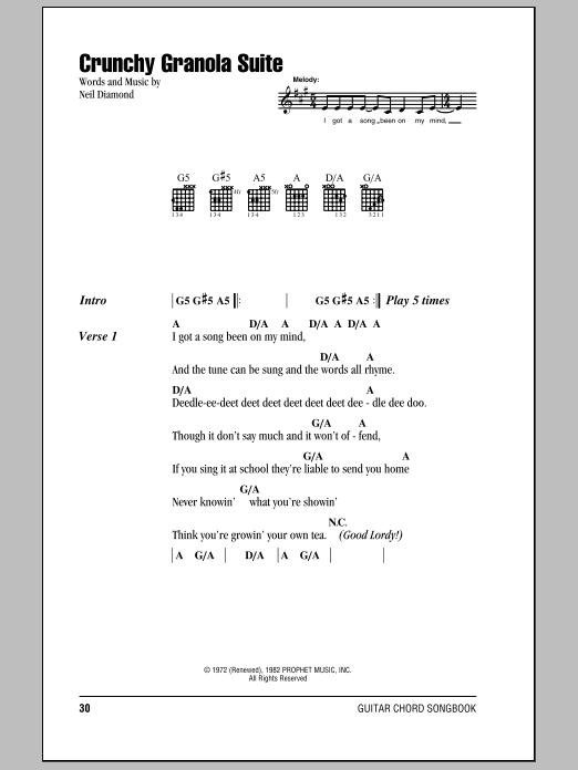 Crunchy Granola Suite Sheet Music