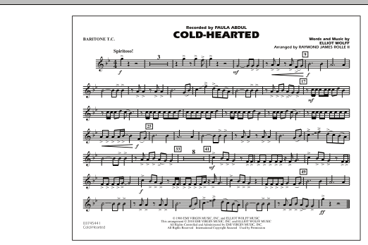 Cold-Hearted (Featured in Drumline Live) - Baritone T.C. (Marching Band)