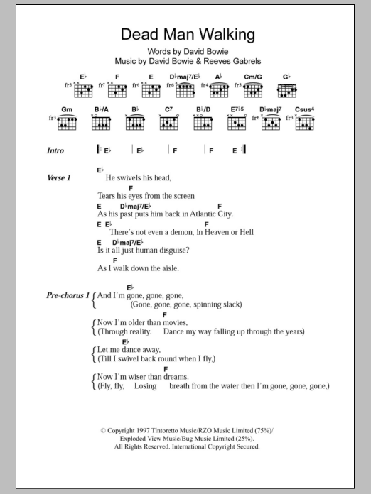 Outstanding Guitar Chords David Bowie Component - Beginner Guitar ...