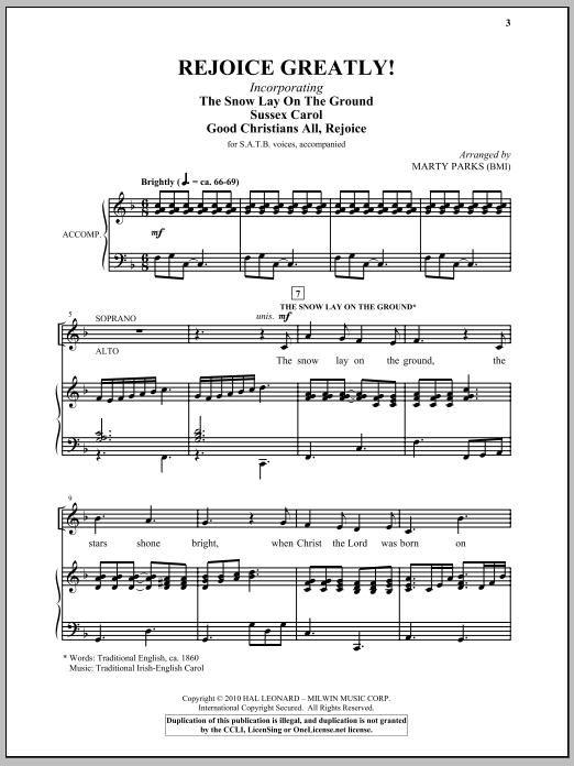 Rejoice Greatly! Sheet Music