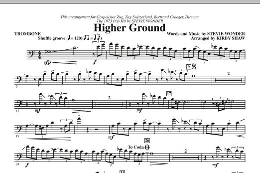 Higher Ground - Trombone (Choir Instrumental Pak)