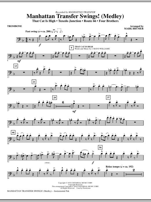 Manhattan Transfer Swings! (Medley) - Trombone (Choir Instrumental Pak)