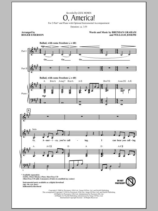 O, America! Sheet Music
