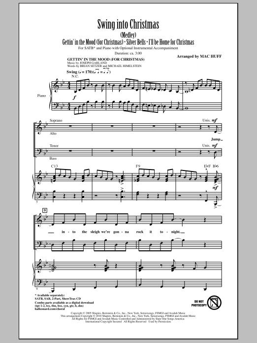 Swing Into Christmas (Medley) Sheet Music