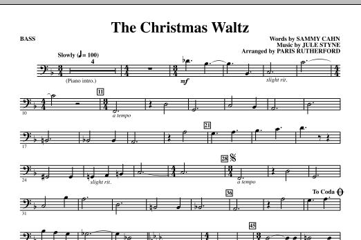 The Christmas Waltz - Bass (Choir Instrumental Pak)