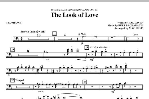 The Look Of Love - Trombone (Choir Instrumental Pak)